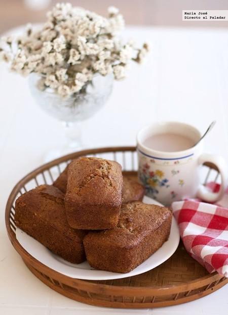 Receta de bizcochitos de pera con semillas, para el desayuno o la merienda