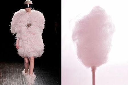 Cuando la moda inspira creaciones culinarias