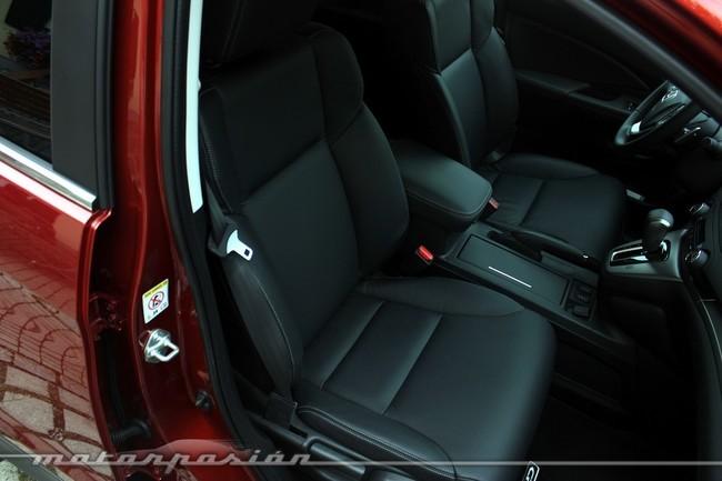 Honda CR-V, accesibilidad al interior