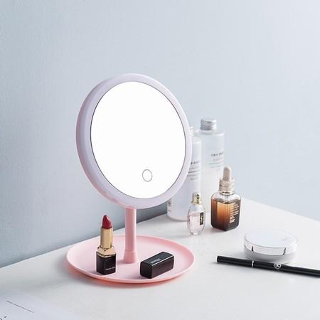 Cinco espejos de maquillaje con luz de Aliexpress ideales para tener siempre a mano en tu tocador