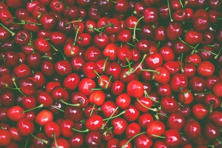 Cherries Close Up Delicious 175727