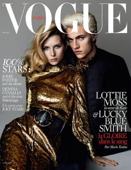 Lottie Moss logra su primera portada en Vogue Paris. ¿Ha nacido una estrella?