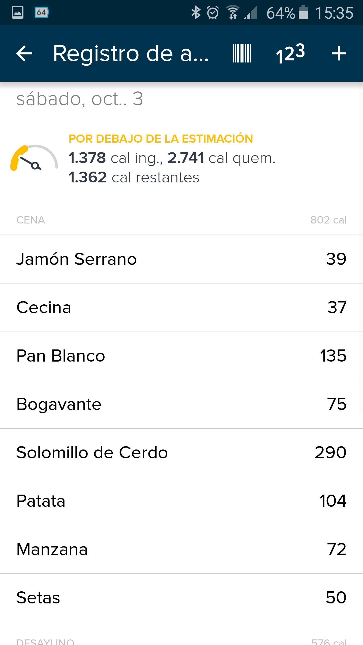 Foto de Aplicación Fitbit en smartphone (12/19)