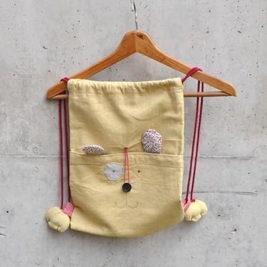 Divertidas mochilas infantiles hechas a mano
