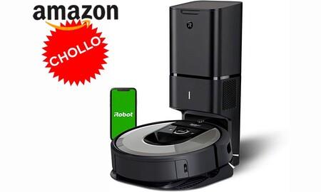 Chollazo: uno de los robots aspirador más punteros de iRobot, el Roomba i7+, tiene una rebaja de 350 euros en Amazon