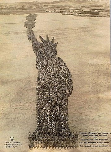 Lady Liberty. Arthur Mole. 1918