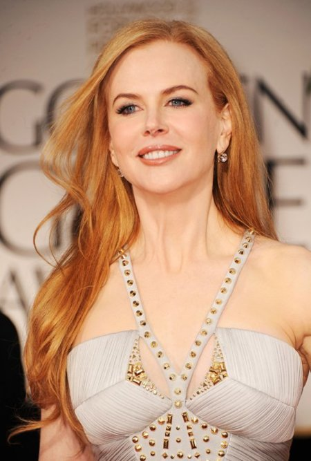 Nicole Kidman Globos de Oro 2012