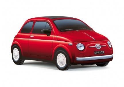Accesorios curiosos: funda para el Fiat 500 que imita a un Fiat 500
