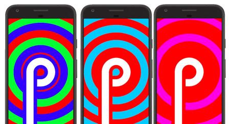 El huevo de pascua de Android P es extra psicodélico, así lo puedes probar