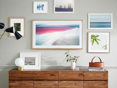 Así es The Frame, el nuevo televisor con el que Samsung quiere llevar el arte a nuestros salones