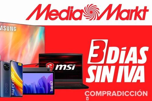 Días sin IVA en MediaMarkt: más smart TVs, smartphones, portátiles o tablets a los mejores precios