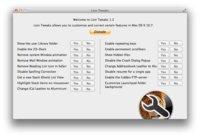 Desactivando todas las opciones de OS X Lion desde un único programa