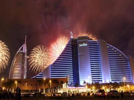 Fiesta de Fin de Año en Dubai: los mejores fuegos artificiales