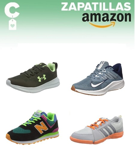Chollos en tallas sueltas de zapatillas New Balance, Under Armour, Nike o Adidas en Amazon