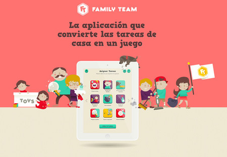 Family Team, una aplicación con estilo para organizar las tareas de la casa