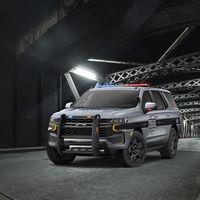 Chevrolet Tahoe 2021 se transforma en policía con un aspecto y equipamiento especial