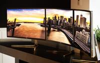 LG le apuesta, otra vez, a las pantallas curvas con su nuevo monitor