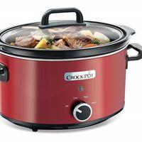 La  olla de cocción lenta Crock Pot de 3,5 litros de capacidad está rebajada a 29,99 euros en eBay