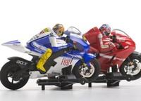 Las motos de scalextric ganan realismo y pueden tumbar en las curvas