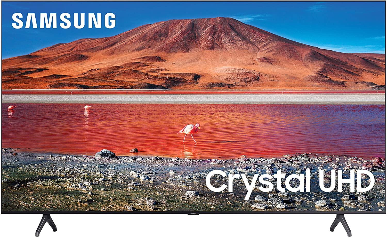 Smart TV Samsung 43 pulgadas 4K (UN43TU7000FXZX modelo 2020)
