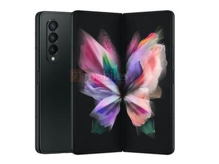 Samsung Galaxy Z Fold3 Filtracion Render Diseno Colores