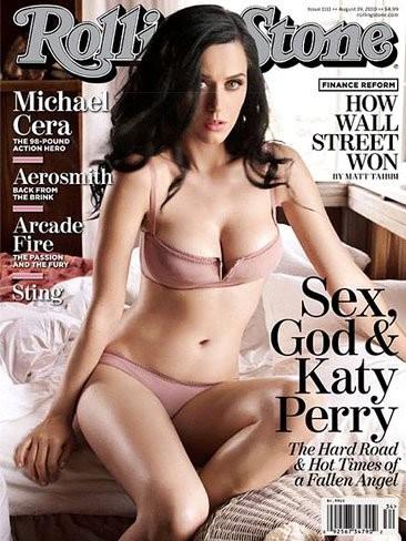 Katy Perry absolutamente sexy en Rolling Stone