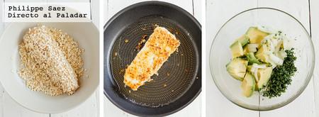 Pescado Frito Aguacate Receta