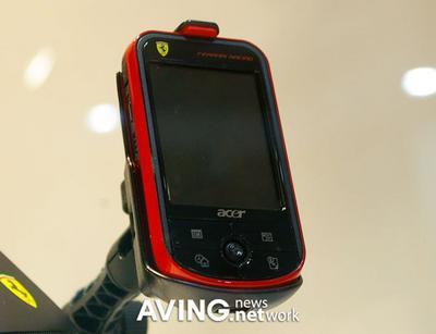 Navegador GPS Acer Ferrari
