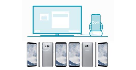 Samsung quiere que utilices el Galaxy S8 como un PC, para eso estará DeX station