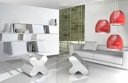 XY, mesas y asientos inspirados en el genoma humano