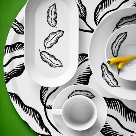 Ikea Coleccion Avsiktlig 2017 Ph141885 Cuenco Porcelana Feldespato Hoja Bandeja Carton Laminado Dibujos Variados Lowres