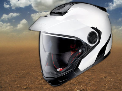 Nolan N40.5 GT, el crossover de los cascos que es capaz de todo