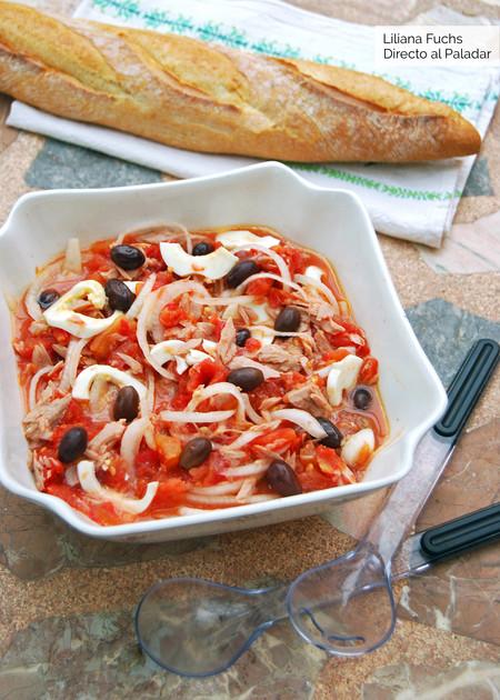 Ensalada murciana: receta tradicional para no dejar de mojar pan