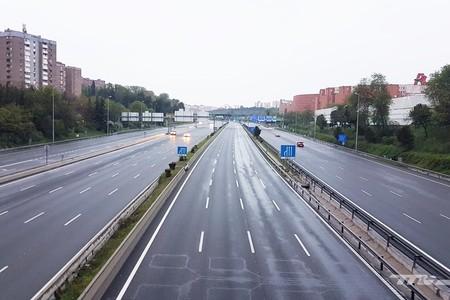 Madrid Carretera Confinamiento