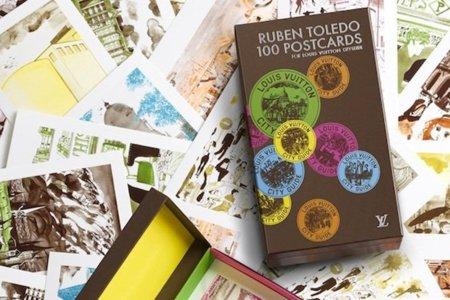 Ahora, Louis Vuitton tiene sus propias postales