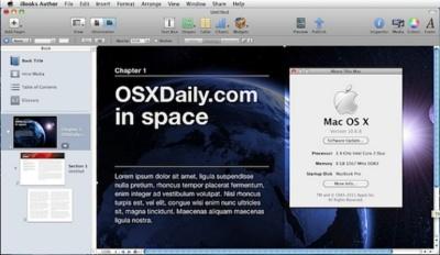 Cómo instalar iBooks Author en OS X Snow Leopard