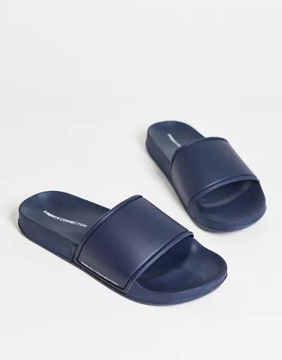 Sandalias azul marino de French Connection