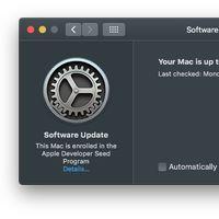 macOS 10.14 Mojave se lleva las actualizaciones del sistema a un nuevo panel de Preferencias