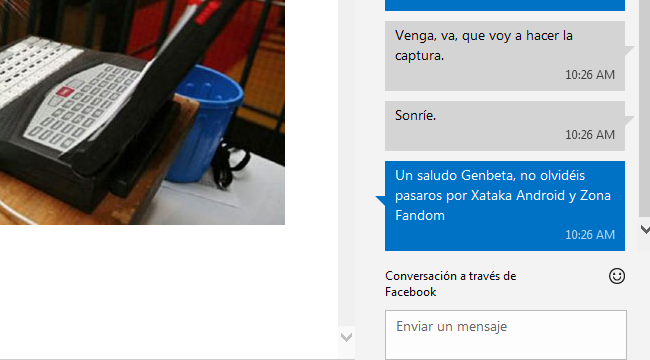 Chat de Outlook.com