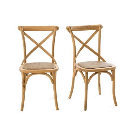 Set de dos sillas