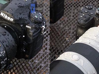 Imaging Resource pone a prueba el sellado de la Nikon D850 y la Sony A7R III y nos muestra los resultados en vídeo