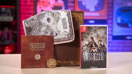 Si te tienta Octopath Traveler, deberías ver el unboxing de la Edición Traveler's Compendium