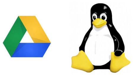 Google Drive y Tux