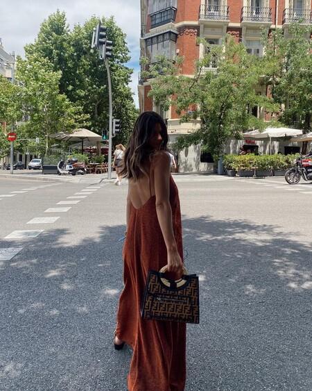 vestido glitter de laura matamoros