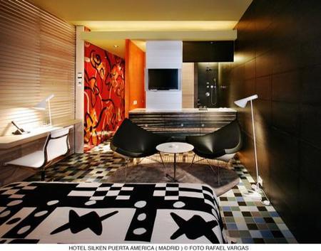 hotel puerta América - Mariscal y Salas - habitacion