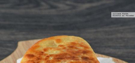 Quesadillas crujientes de pollo, papaya y provolone. Receta de aprovechamiento