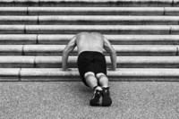 Diferentes ejercicios para realizar en escaleras