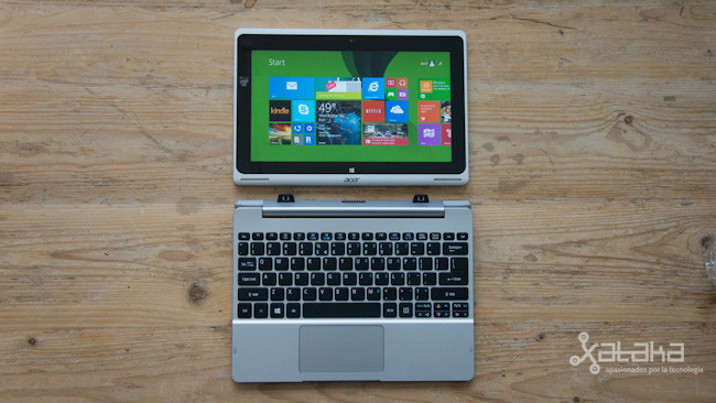 Acer Aspire Switch 10, toma de contacto
