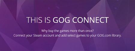GOG Connect nos permite añadir a nuestra biblioteca juegos que hayamos comprado en Steam
