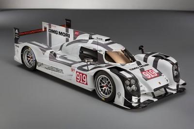 Auto Show de Ginebra 2014: Porsche 919 Hybrid
